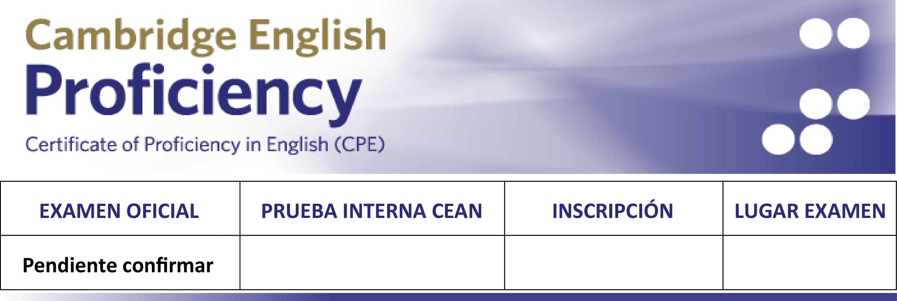 CPE/C2 2019